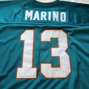 ddc11e0e8b0 Mitchell   Ness Shirts - Mitchell   Ness Dan Marino Throwback Jersey